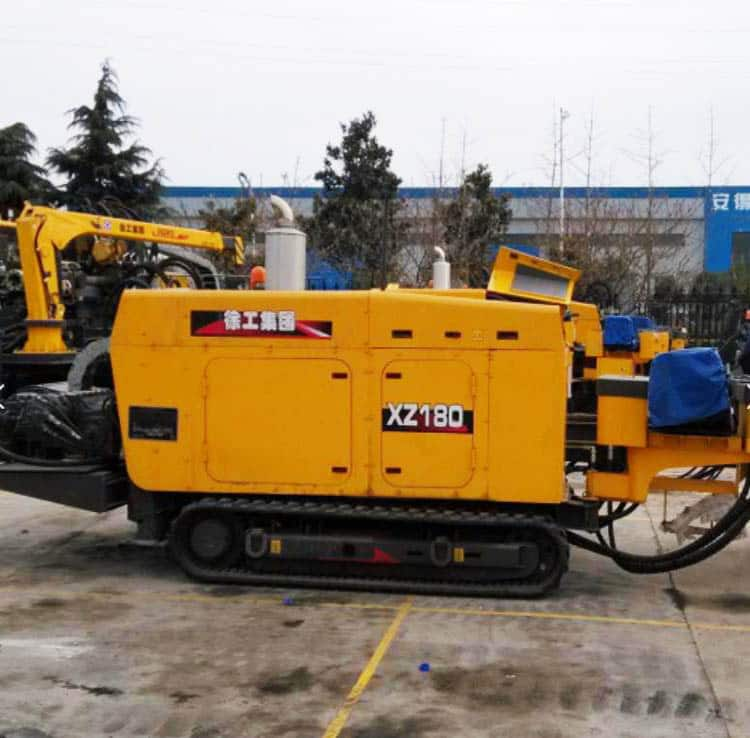 XCMG HDD XZ180 China Small Horizontal Directional Drilling Rig Machine For Sale