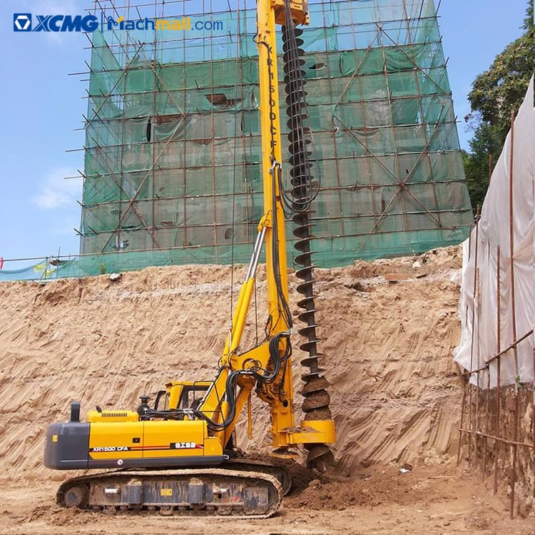 XCMG 150KN Small CFA Drilling Rig Machine XR150D-CFA price