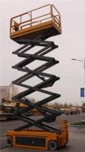 XCMG 10m Electric Self Propelled Scissor Lift XG1012DC For Sale