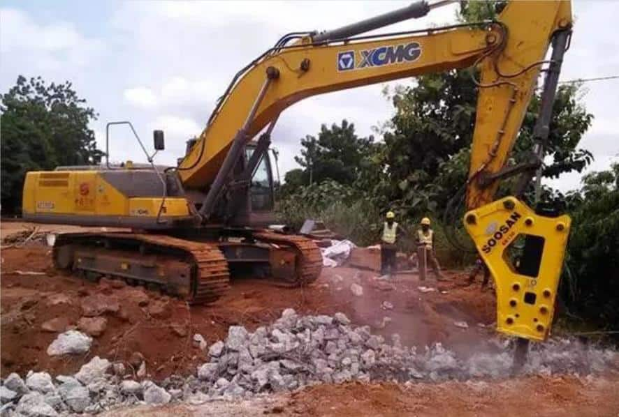 XCMG Official XE950DH mining hydraulic excavator for sale