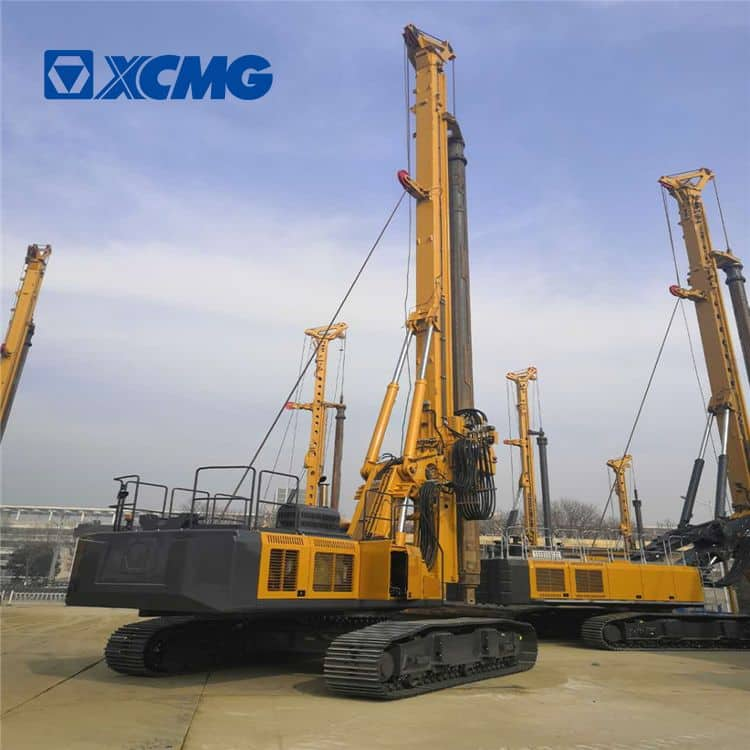 XCMG Official Crawler Rotary Drill Rig Machine XR180D Price