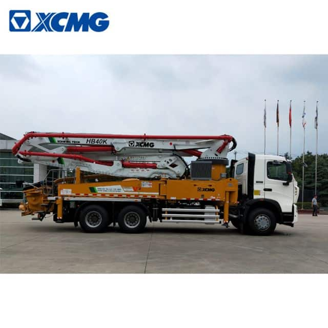 XCMG Schwing 40m China new concrete pump truck HB40V with Sinotruk HOWO chassis price