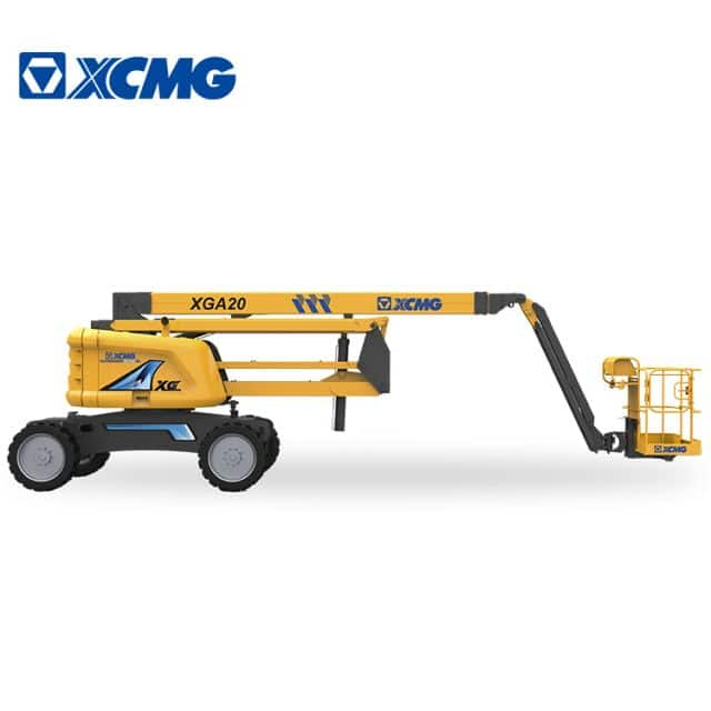 XCMG  20m self-propelled articulated boom lift XGA20 mobile elevating work platform price
