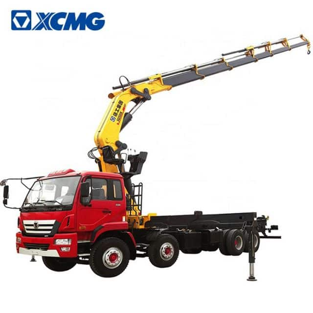 XCMG Official 12ton truck mounted crane with foldable arm SQ12ZK3Q lorry mounted crane for sale