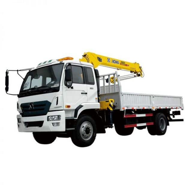 XCMG Official 5 ton truck mounted crane China mini Crane SQ5ZK2Q knuckle boom crane Price