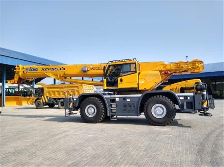 XCMG XCR55L4 Off Road Crane China 50 Tons Rough Terrain Crane Price