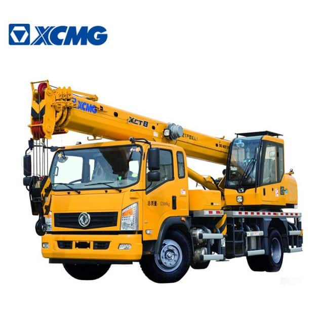 XCMG Official 8 ton China mini Truck Crane XCT8L4 RC mobile cranes machine price
