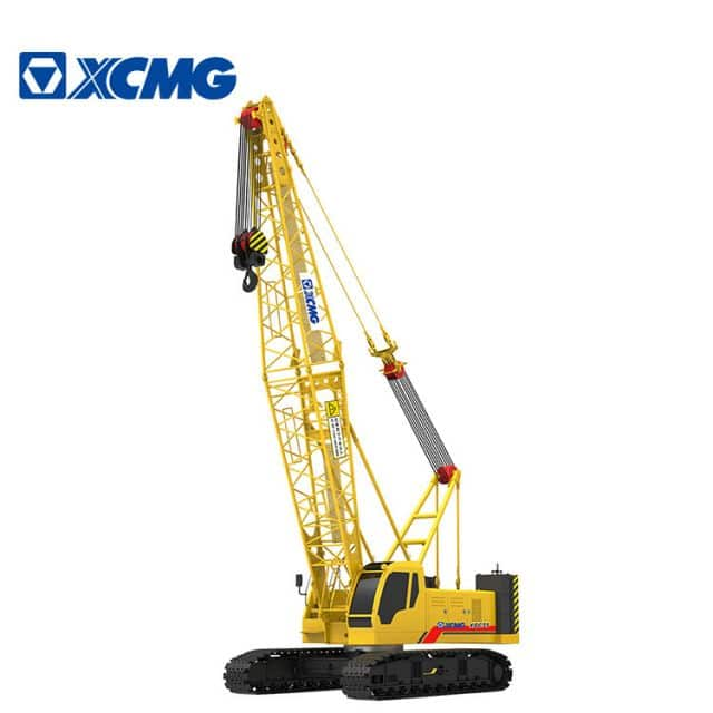 XCMG Official heavy duty 75 ton crawler crane XGC75 crane crawler with parts for sale