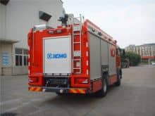 XCMG 4x2 AP50F1 compressed water and foam fire fighting truck price