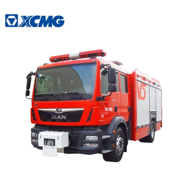 XCMG Official Fire Truck AP50F1 firefighter truck new water and foam fire truck Multi-Functional Fire Truck price for sale