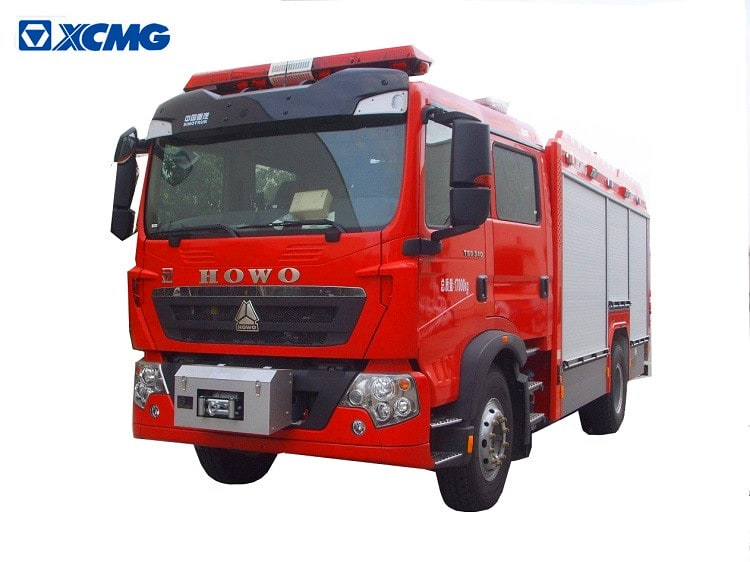 XCMG Official Fire Truck AP50F2 5 ton Compressed Air Fire-extinguishing Foam Tanker new fire fighter trucks for sale