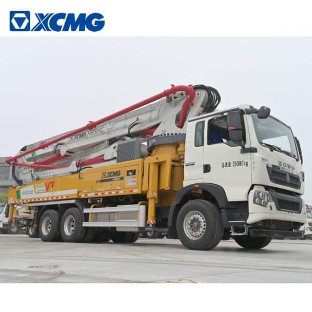 XCMG official 50m China new concrete pump truck HB50V with Sinotruk chassis price