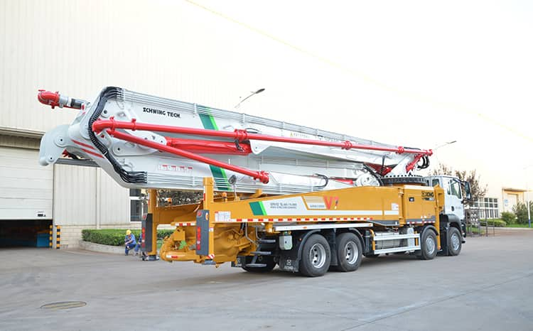 XCMG Schwing 62m Truck-mounted Concrete Boom Pump HB62V China Concrete Pump Truck for Sale