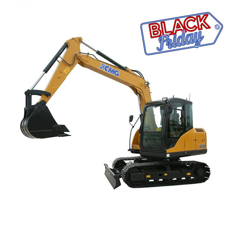 <2019 Black Friday> XCMG Official XE80D Crawler Excavator for sale
