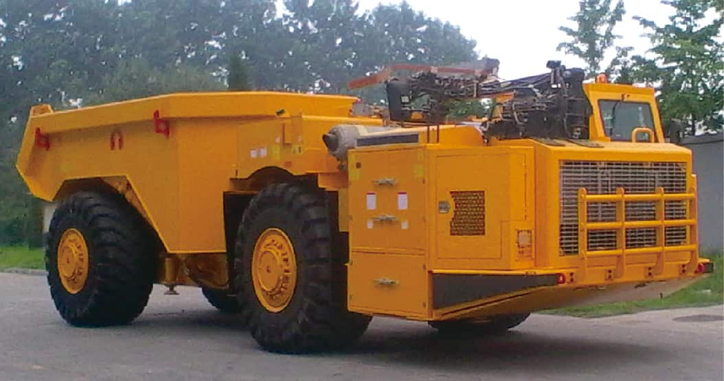 XCMG Official DAM35U 35 ton underground mining truck for sale