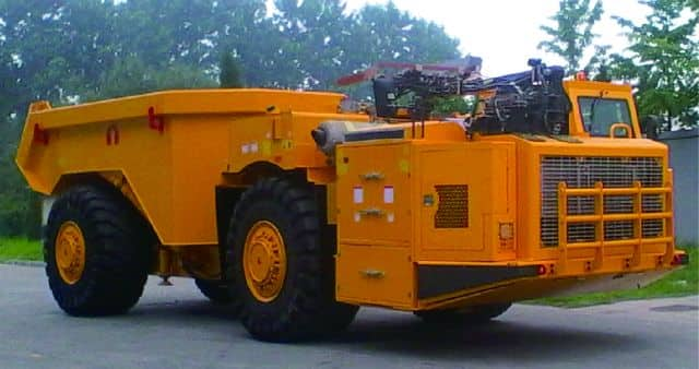 XCMG Official DAM35U Underground Articulated Dump Truck for sale