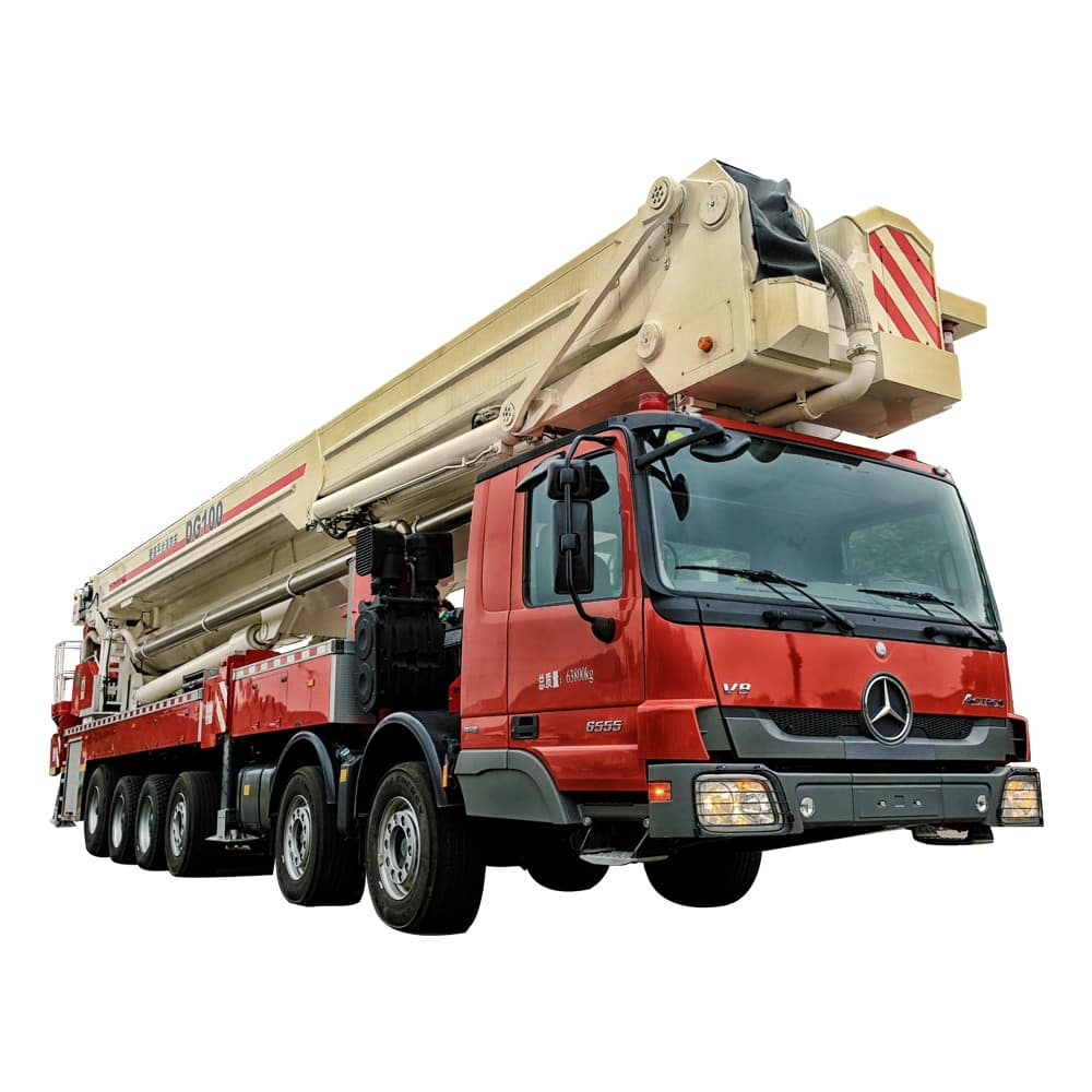 XCMG Official 100m Elevating Aerial Work Platform Fire Truck DG100 for sale