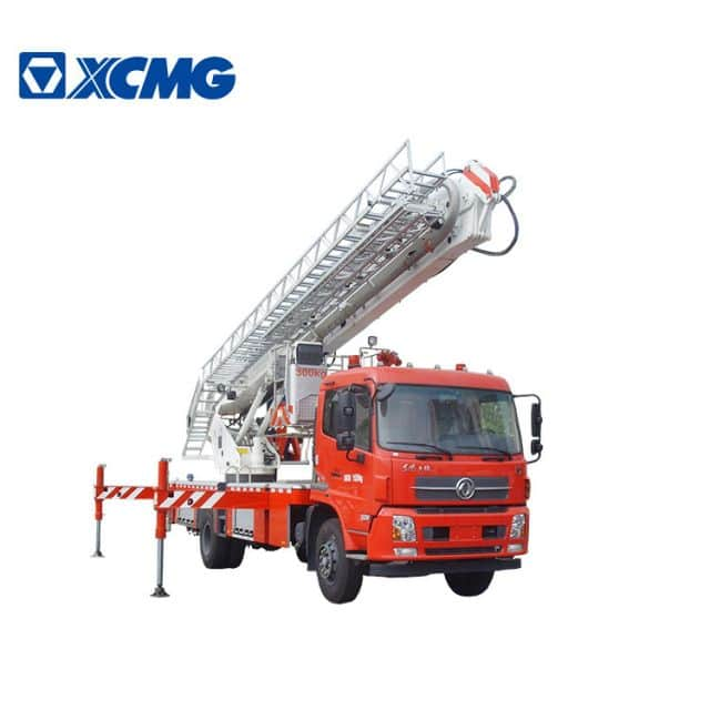 XCMG official Small Fire Truck 22m new aerial ladder fire truck DG22C2 telescopic platform fire trucks price for sale