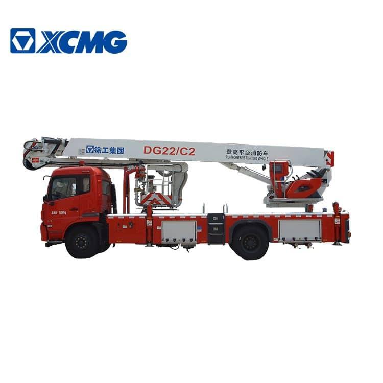 XCMG official 4x2 22m hydraulic airport platform fire trucks DG22C2 price