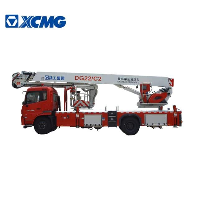 XCMG official 4x2 22m hydraulic airport platform fire trucks DG22C2 price