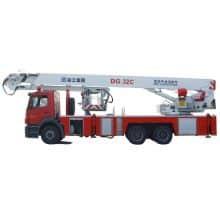 XCMG Official 32m Elevating Aerial Work Platform Fire Truck DG32C for sale
