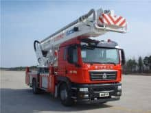 XCMG official rescue fire truck 32m DG32K2 China mini aerial platform fire truck for sale