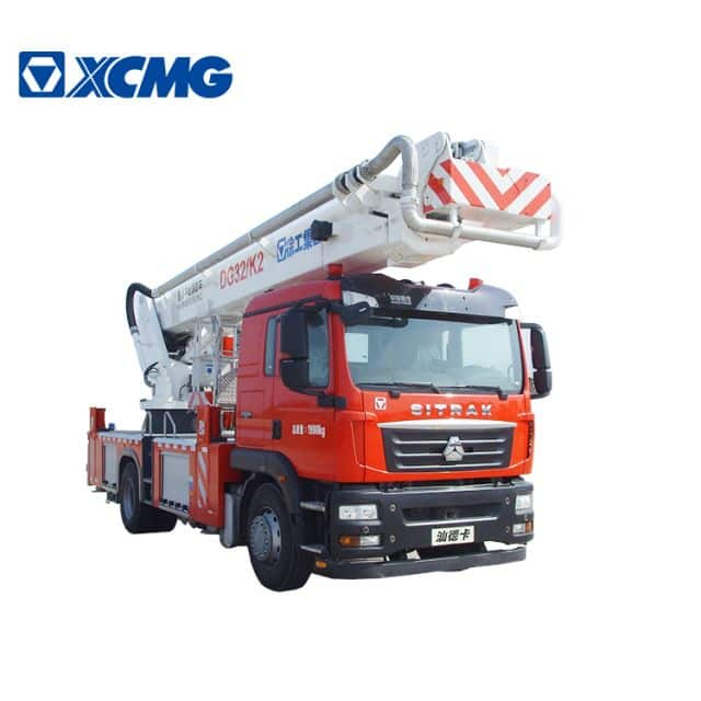 XCMG official Small Fire Truck 32m new aerial platform fire truck DG32K2 firefighting truck for sale