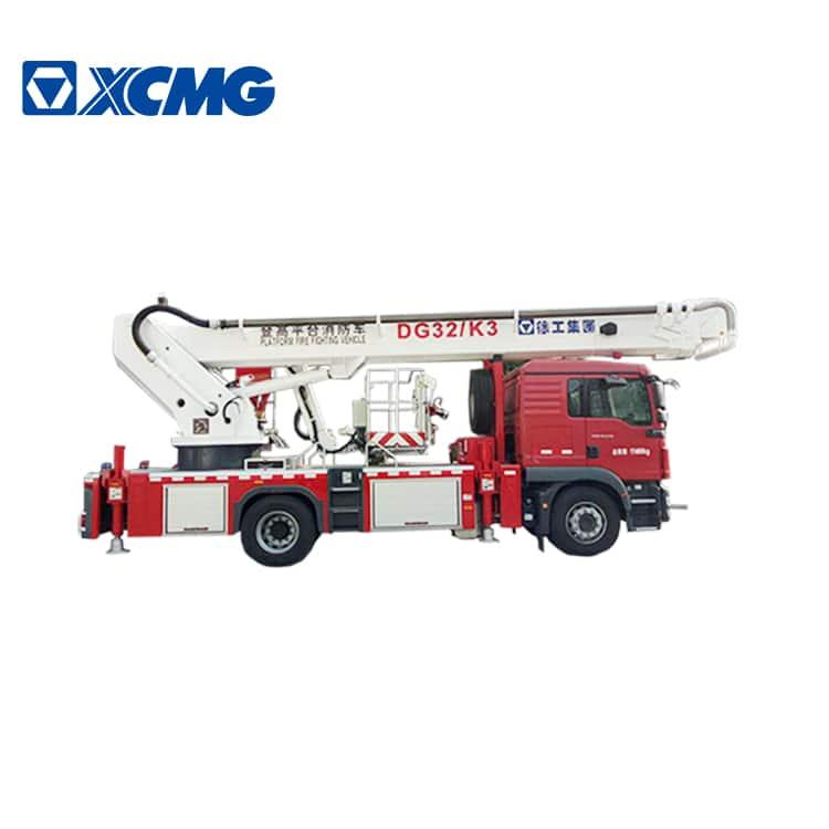 XCMG official 32m 4x2 aerial platform fire fighting truck DG32K3 price