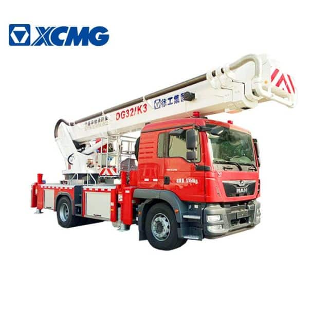 XCMG official Small Fire Truck 32m aerial ladder fire truck DG32K3 firefighting truck for sale