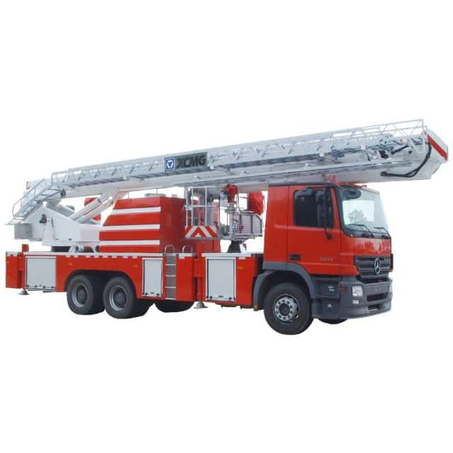 XCMG Official  34m Elevating Aerial Work Platform Fire Truck DG34C for sale