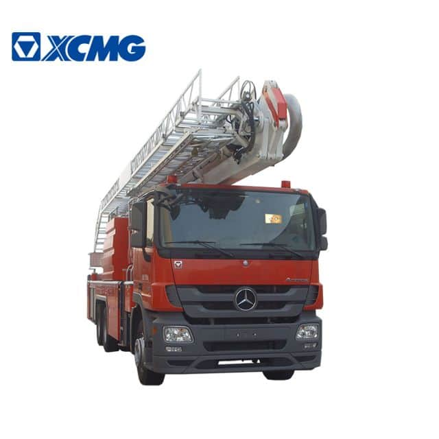 XCMG official Fire Truck 34m aerial ladder fire truck DG34M1 water tower fire truck new telescopic platform fire trucks for sale