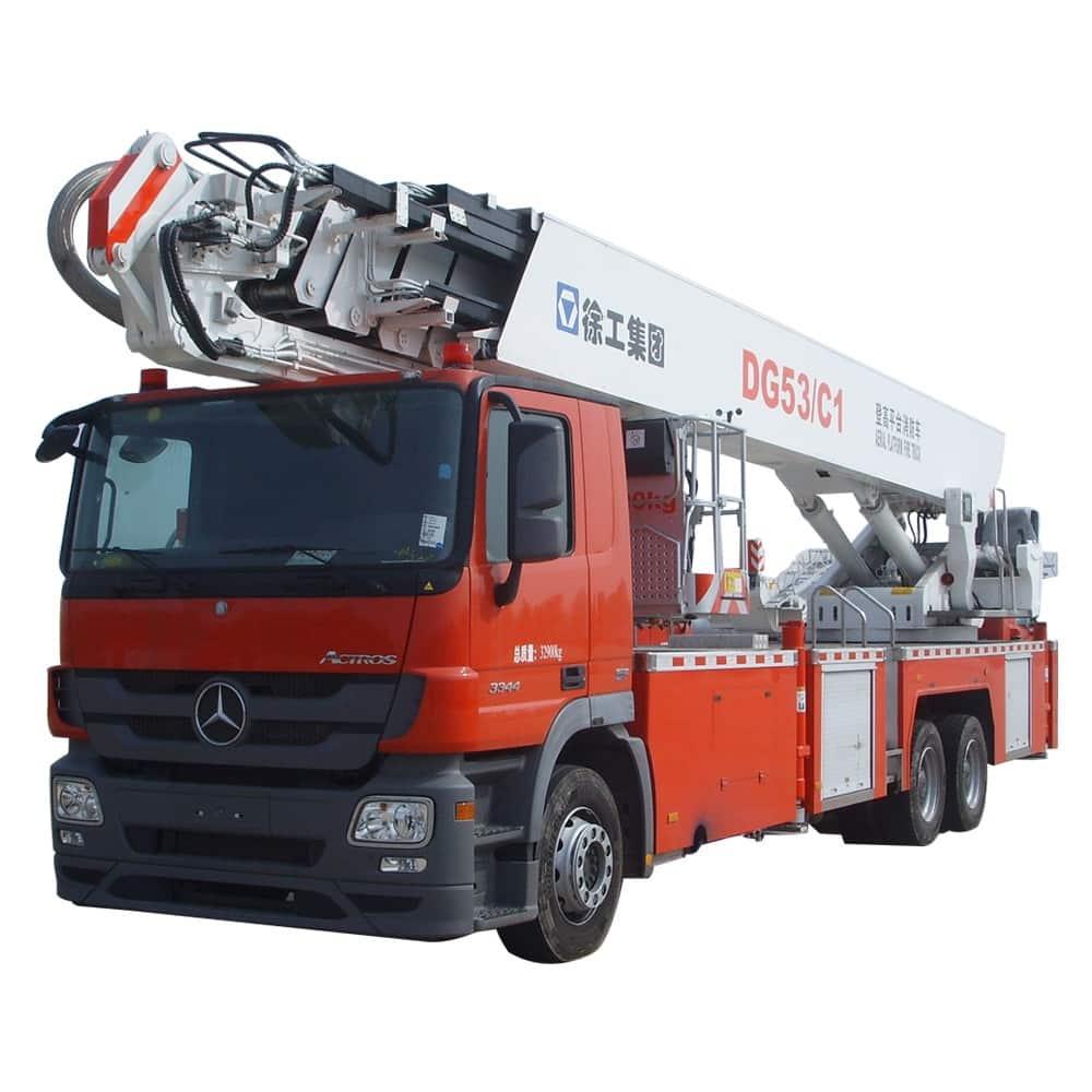 XCMG Official 53m Elevating Aerial Work Platform Fire Truck DG53C1 for sale