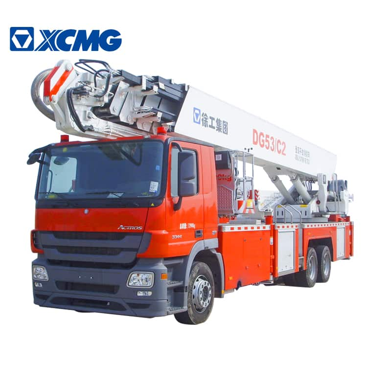 XCMG Official 53m Elevating Aerial Work Platform Fire Truck DG53C/C2 for sale