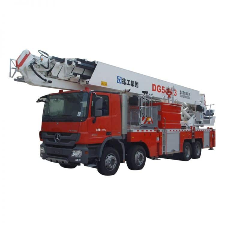 XCMG Official 54m Elevating Aerial Work Platform Fire Truck DG54C3 for sale