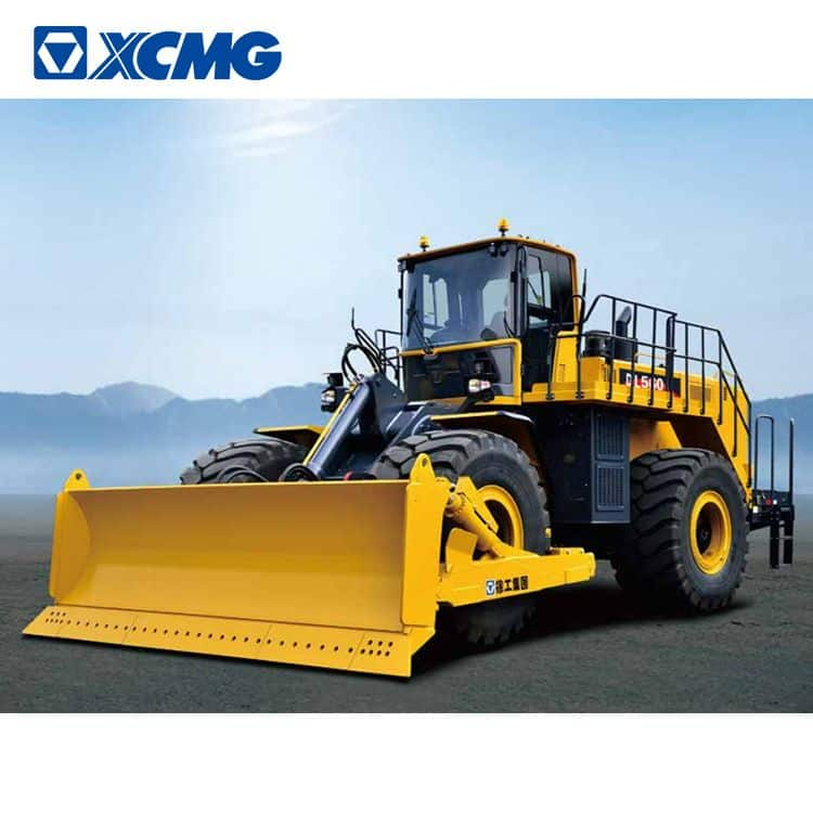 XCMG 560HP bulldozer DL560 China wheel bull dozer with Cummins engine price