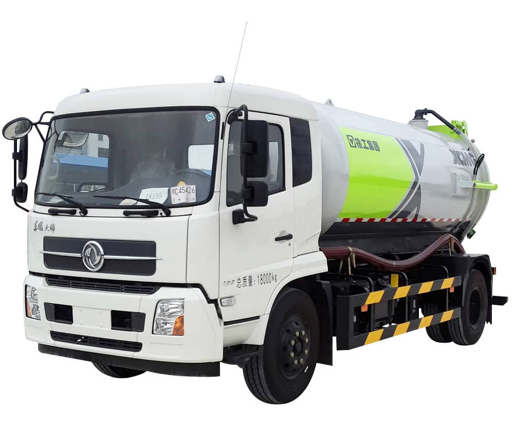XCMG Official DXA5180GXWD5 Suction Truck for sale
