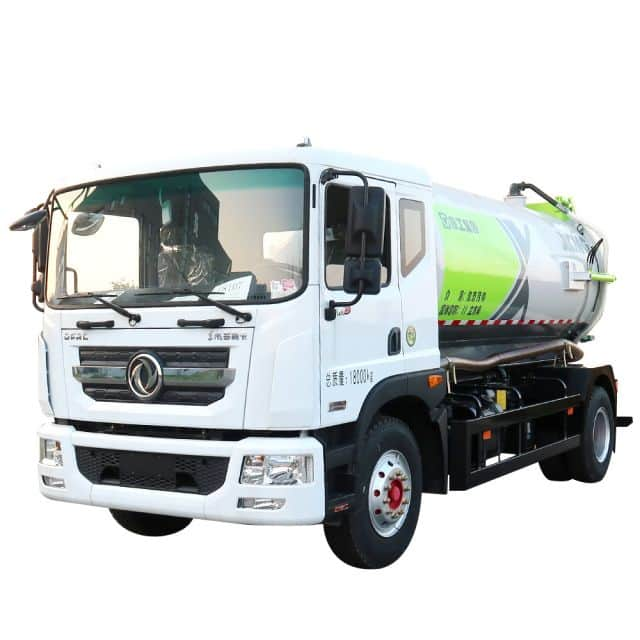 XCMG Official DXA5181GXWD5 Suction Truck for sale