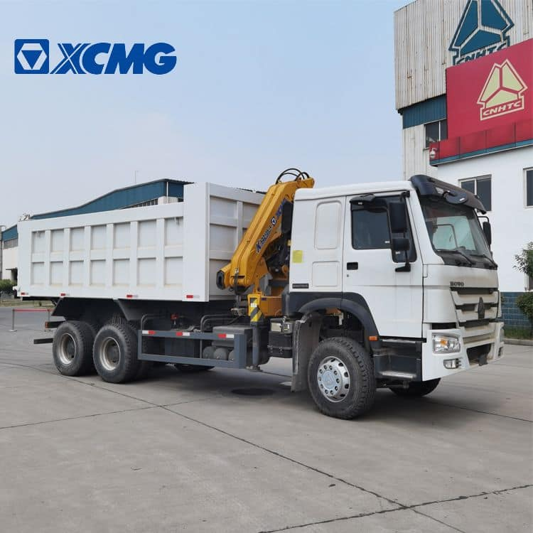 XCMG Official 5 Ton Dump Trailer Truck Mounted Log Crane SQZ105-3 with Good Price