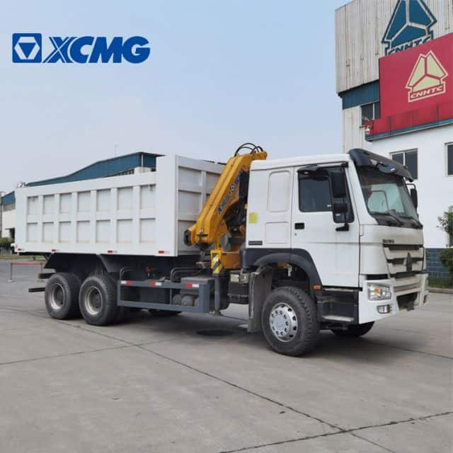 XCMG Official 3 Ton Small Tipper Dump Truck SQ3.2ZK2Q with Crane