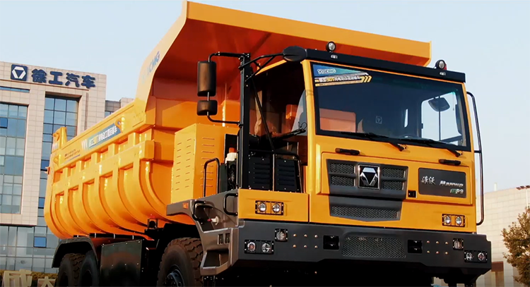 XCMG EDF531 6*4 90 ton pure electric mine dump truck