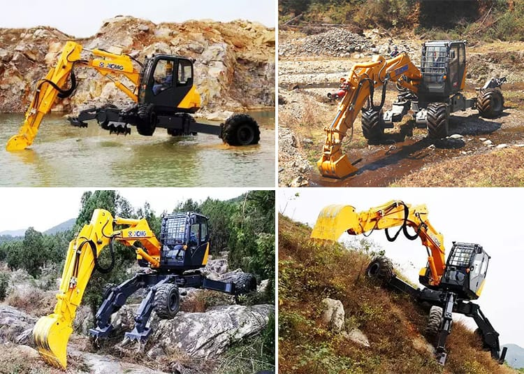 XCMG Manufacturer ET110 10 Ton Spider Excavator For Sale