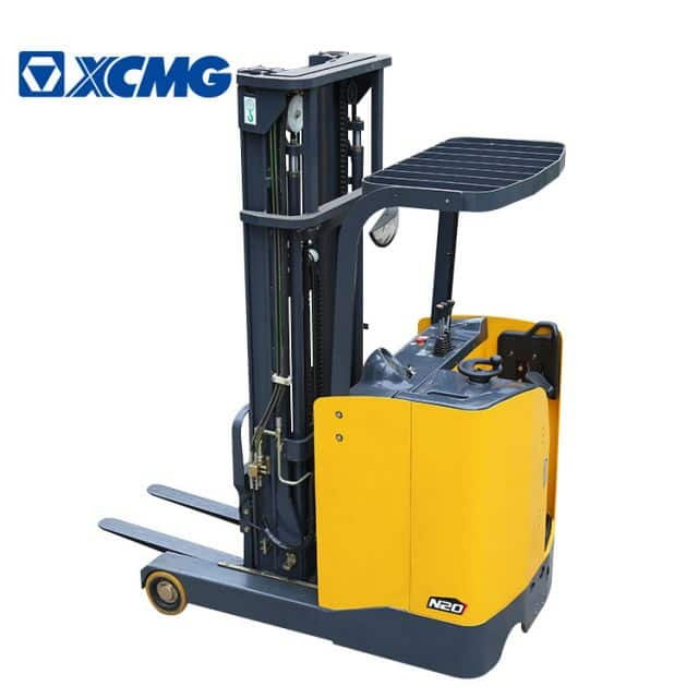 XCMG Official 2 ton Full Electric Self Lifting Pallet Stacker FBR20-AZ1 Price