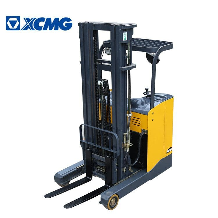 XCMG Electric Stacker 2 Ton Mini Forklift Stacker FBR20-AZ1 With 2 Stage 3m Mast Price