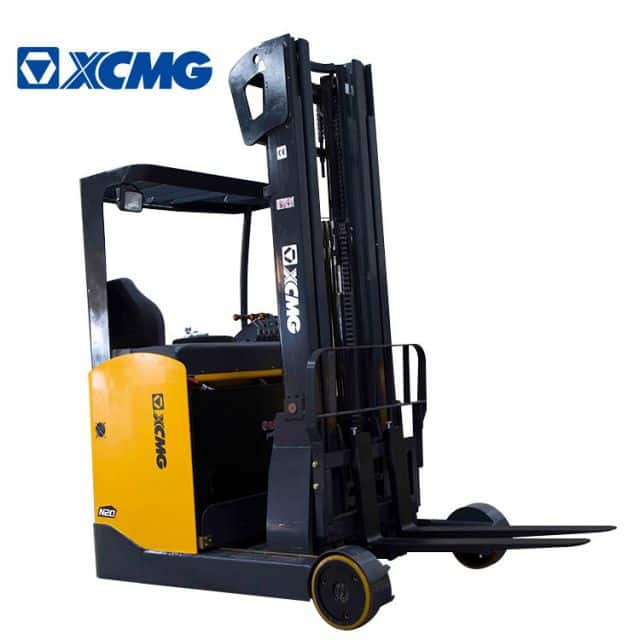 XCMG Electric Forklift Stacker 2 Ton Self Loader Stacker With 3 Stage 6m Mast FBRS18-AZ1 For Sale