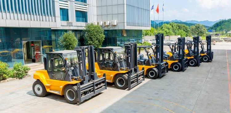 XCMG FD150T 15 Ton Maximal Forklift Truck Diesel China