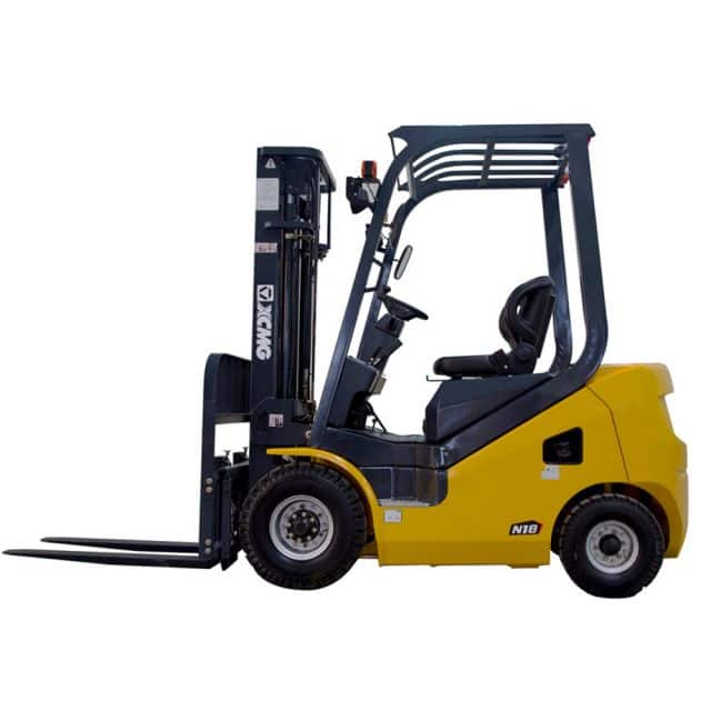 XCMG 1.5T Diesel Forklift FD15T Diesel Engine with Duplex Mast 4000mm for sale