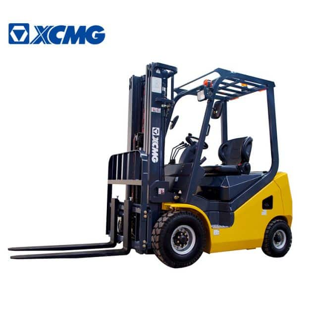 XCMG 2 Ton Forklift Diesel China Small Wheel Forklifts Truck With Japan Forklift Engine FD18T Price