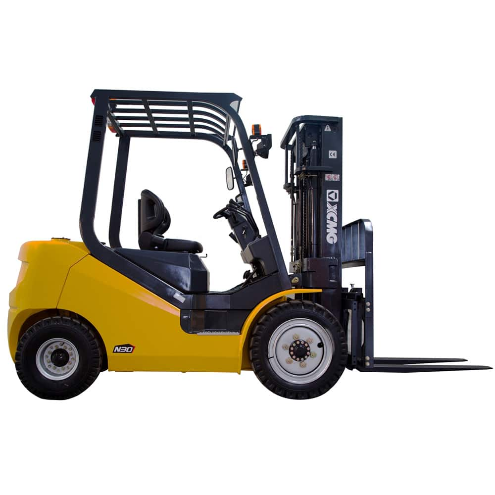 Chinese XCMG 5T Diesel Forklift FD50T-JFDiesel Engine with Side Shifter for sale