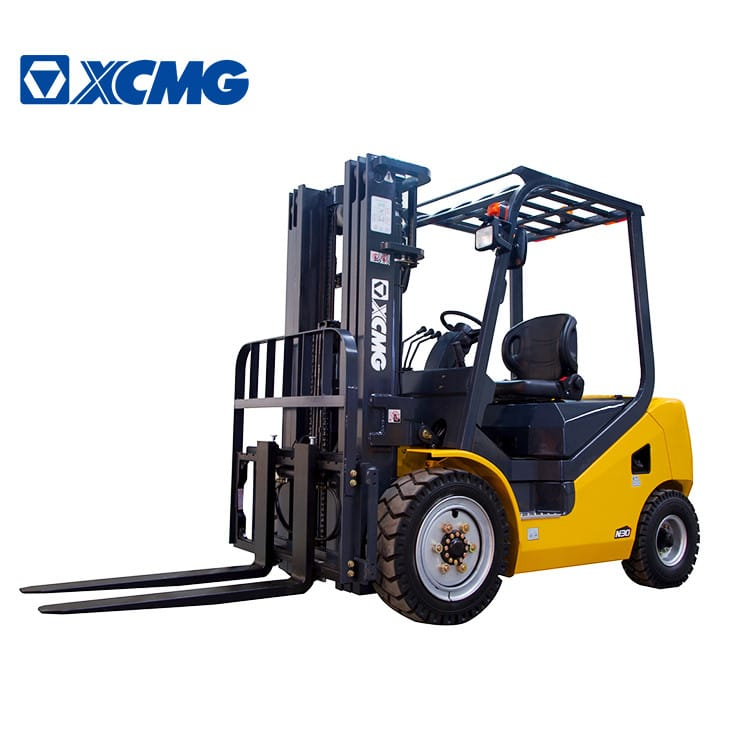 XCMG Diesel Forklift 3 Tons China Small Truck Forklifts FD30T With Isuzu Engine Diesel For Sale