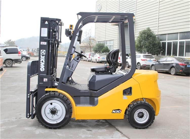 XCMG official 5ton fork lift FD45T China new diesel fork lift machine price